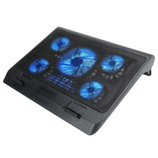 ENHANCE GX-C1 Laptop Cooling Stand (15.75 x 12.75) with 5 LED Fans & Dual USB Ports