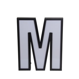 Letter M Wall Decor privilege international silver metal wall decor - free shipping