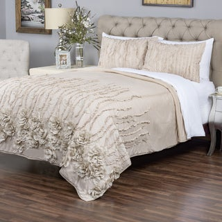 Kalyana Cappuccino Collection Quilt By Arden Loft