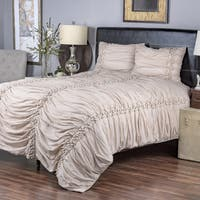 Iraja Cappuccino Collection 3-piece Quilt Set by Arden Loft