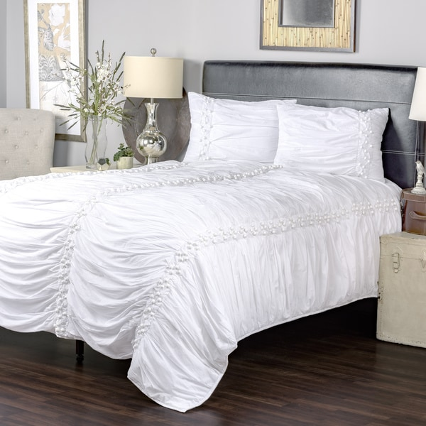 Iraja White Collection 3-piece Quilt Set by Arden Loft