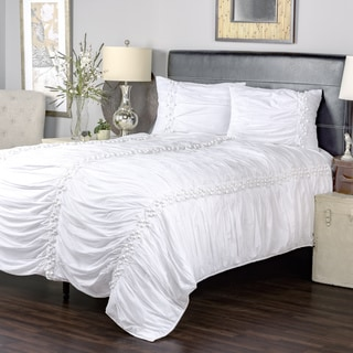 Iraja White Collection 3-piece Quilt Set by Arden Loft