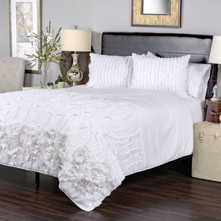 Kalyana White Collection Quilt By Arden Loft (2 options available)