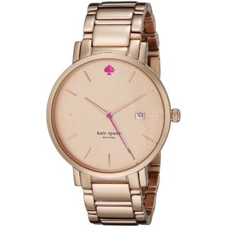 Kate Spade Women's 1YRU0641 'Gramercy' Rose-Tone Stainless Steel Watch