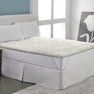 Rest Remedy Cool Wool Reversible Mattress Pad