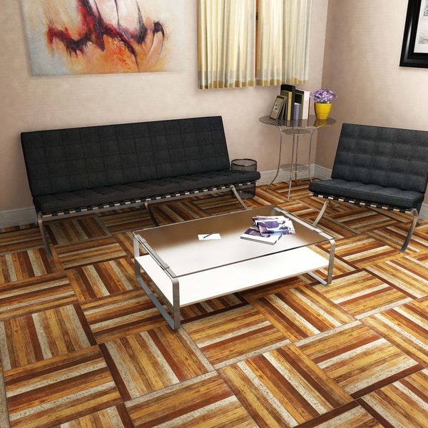 SomerTile 17.75x17.75-inch Ottawa Natural Ceramic Floor and Wall ...