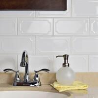 SomerTile 4x7.88-inch Thera Blanco Ceramic Wall Tile (50 tiles/10.76 sqft.)