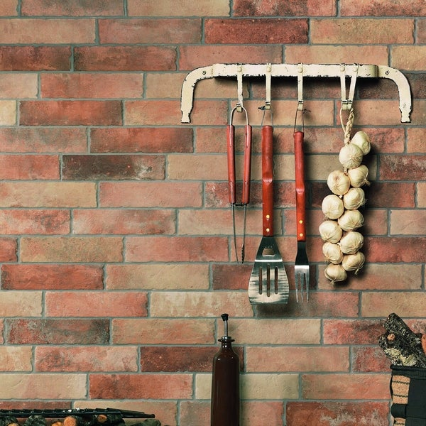 Somertile 2 5x10 Inch Suffolk Brick North East Porcelain Floor And Wall Tile 27