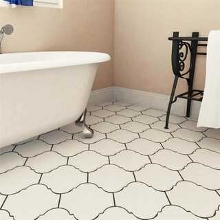 SomerTile 10.375x11.375-inch Mar Nostrum Provenzal Ibiza Porcelain Floor and Wall Tile (18 tiles/11.34 sqft.)