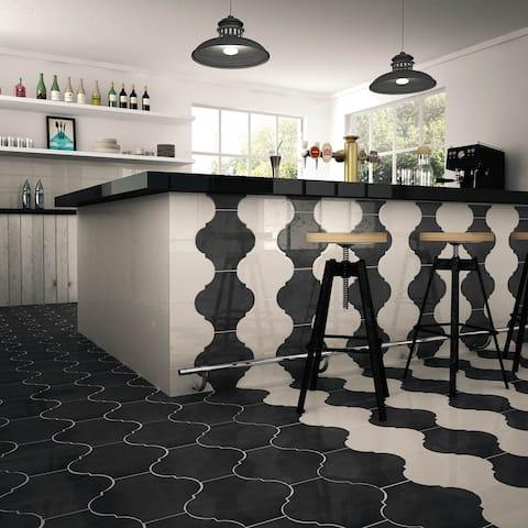 SomerTile 10.375x11.375-inch Mar Nostrum Provenzal Niza Porcelain Floor and Wall Tile