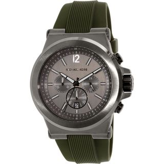 Michael Kors Men's MK8381 'Dylan' Chronograph Green Rubber Watch