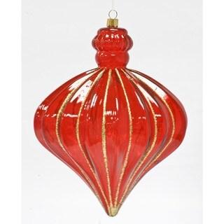 Rib Drop 6-inch Ornament 6 Each