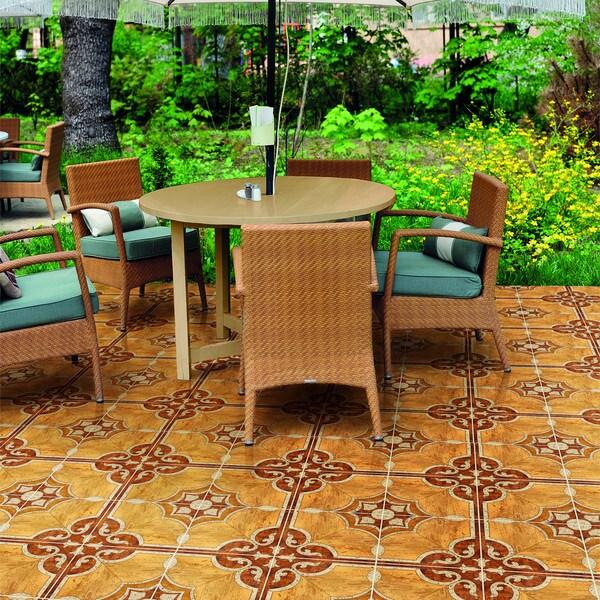 Somertile pineux natural ceramic floor for 10 inch floor tiles