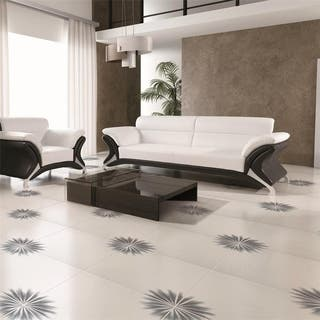 SomerTile 1775x1775 Inch Piza Blanco Ceramic Floor And Wall Tile Case
