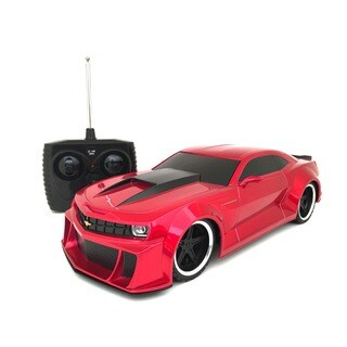 Tri-band Remote Control Extreme Machines Chevrolet Camaro RC Supercar