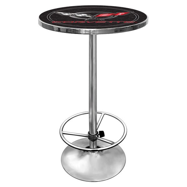 Corvette C5 Pub Table - Black