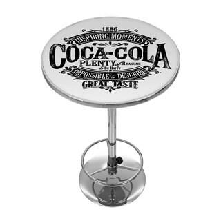 Coca Cola Brazil 1886 Vintage Logo Pub Table
