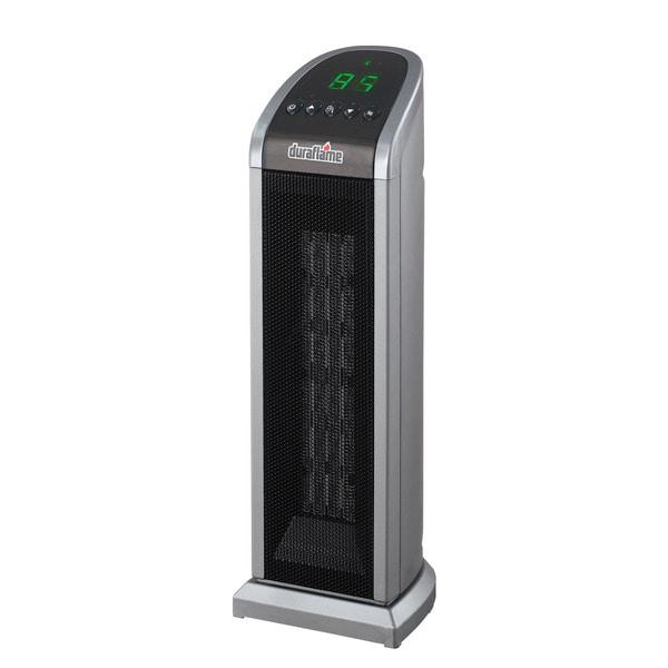 Duraflame Dfh Th 7 E Gray Portable Electric Ceramic Tower