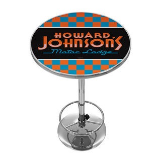 Howard Johnson Chrome Pub Table