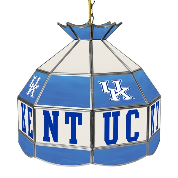 University of Kentucky 16 Inch Handmade Tiffany Style Lamp