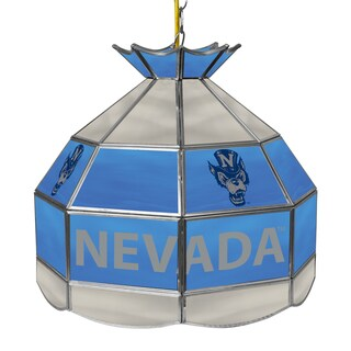 University of Nevada 16 Inch Tiffany Style Lamp