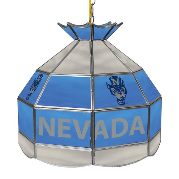 University of Nevada 16 Inch Tiffany Style Lamp