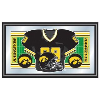University of Iowa Football Framed Jersey Mirror