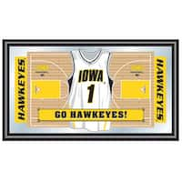 University of Iowa Basketball Framed Jersey Mirror