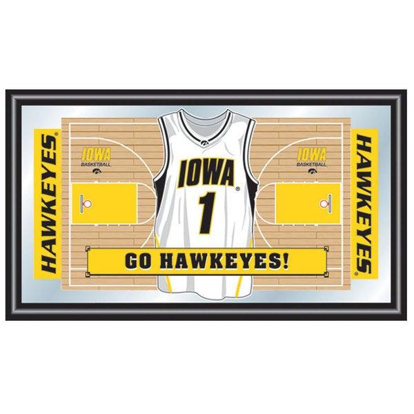 University of Iowa Basketball Framed Jersey Mirror