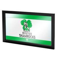 VAF Boston Shamrocks Framed Logo Mirror