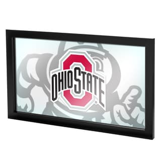 Ohio State Faded Brutus Framed Logo Mirror