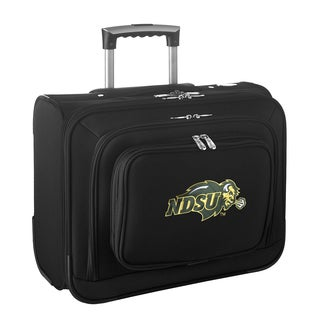 Denco Sports Legacy NCAA North Dakota State Bison Carry On 14-inch Laptop Rolling Overnight Tote