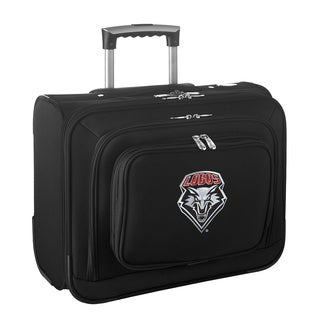 Denco Sports Legacy NCAA New Mexico Lobos Carry On 14-inch Laptop Rolling Overnight Tote
