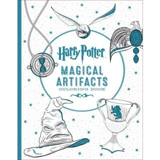 Harry Potter Magical Artifacts Coloring Book (Paperback)