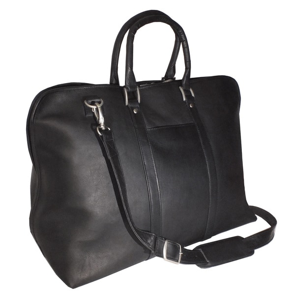 Shop Royce Leather Columbian Leather 23-inch Luxury Travel Duffel Bag -  Free Shipping Today - Overstock.com - 10657888 9daec586d6151