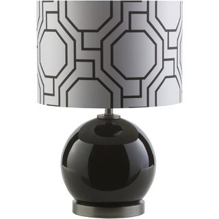 Modern Gavin Table Lamp with Painted Glass Base