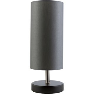 Contemporary April Table Lamp with Wood Base
