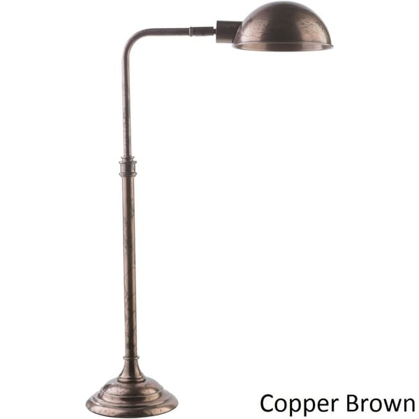 Specialty Eli Table Lamp with Copper/Silver Finish Iron Base