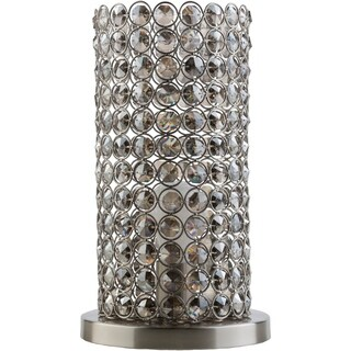 Specialty Colne Table Lamp with Brushed Nickel Finish Iron Base