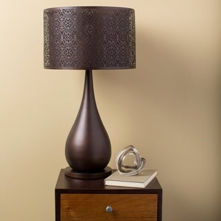 Contemporary Cindy Table Lamp with Iron Base