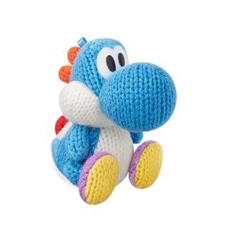 Nintendo Light Blue Yarn Yoshi amiibo