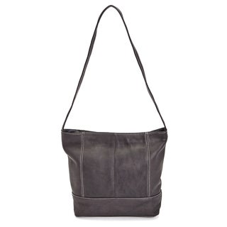 Royce Leather Colombian Leather Luxury Shopper Tote Bag