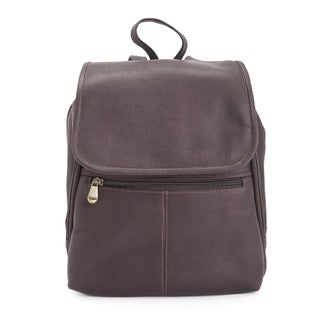 Royce Leather Colombian Leather Luxury Tablet iPad Travel Backpack (2 options available)