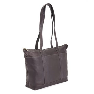 Royce Leather Handcrafted Columbian Leather Luxury 24 Hour Travel Tote Bag