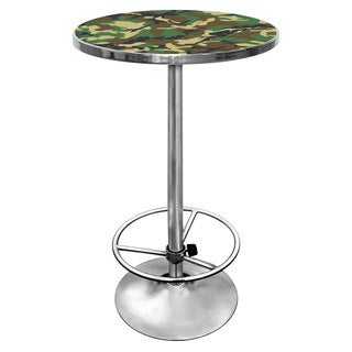 Hunt Camo Chrome Pub Table
