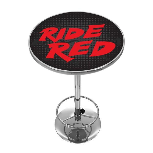 Honda Ride Red Chrome Pub Table