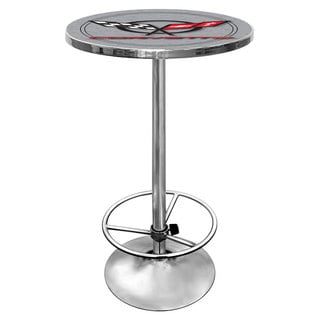 Corvette C5 Pub Table - Silver
