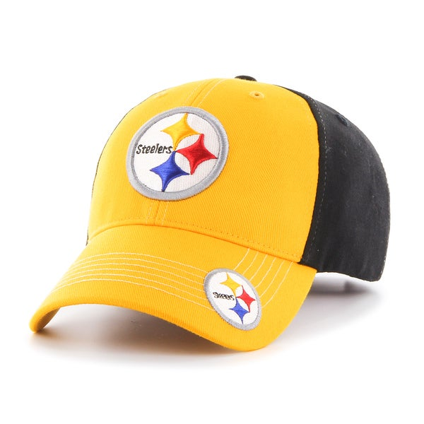 1b428cfcde5b0 Shop 47 Brand Pittsburgh Steelers NFL Revolver Hat - Free Shipping On  Orders Over  45 - Overstock - 10658188