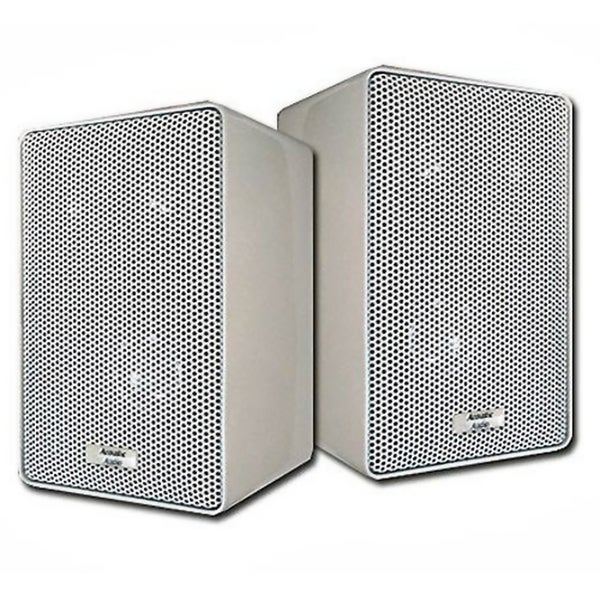 Acoustic Audio 251W 3 way 400 watt White Indoor Outdoor