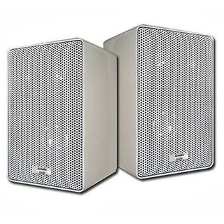 Acoustic Audio 251W 3-way 400-watt White Indoor/ Outdoor Speakers